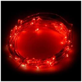 50 LED Red Dot Battery Operated Indoor/Outdoor Light Set thumb
