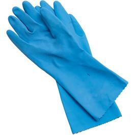 "Sani-Touch Unisex Small/Medium 13"" Deluxe Latex/Foam Work Gloves thumb"