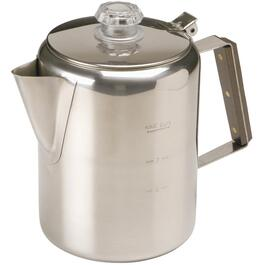 9 Cup Stainless Steel Percolator thumb