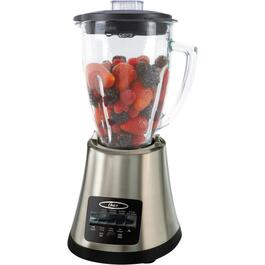700 Watt 8 Speed Black/Chrome Blender, with Glass Jar thumb