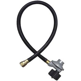 "24"" Liquid Propane Barbecue Hose and Regulator, with Quick Connect Coupling thumb"