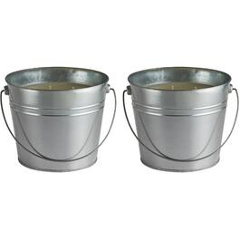 "2 Pack 5"" Citronella Bucket Candles thumb"