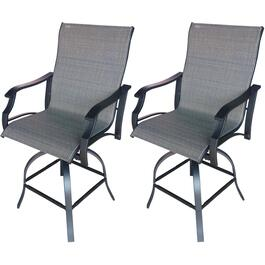 2 Pack Grande Swivel Bar Height Chairs thumb