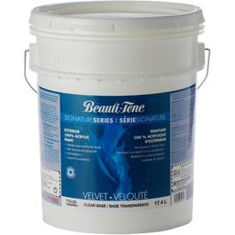 17.0L Velvet Finish Clear Base Exterior Latex Paint thumb