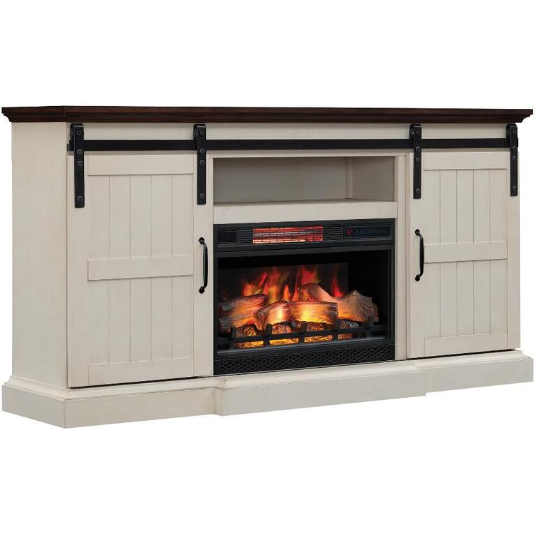 Twin Star Home Hogan Electric Fireplacetv Stand