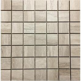 "10 Pack 10 sq. ft. 2""x2"" Travertino Classico Sand Mosaic Tiles thumb"