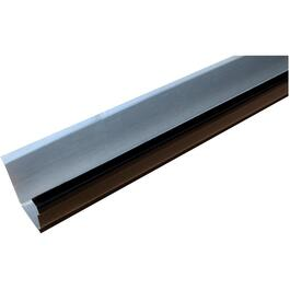 "5"" x 10' K Style Black Aluminum Eavestrough thumb"