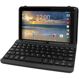 "7"" 16GB Wi-Fi Quad Core Google Certified Touchscreen Tablet, with keyboard thumb"