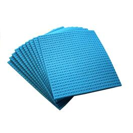 "10 Pack 8"" x 7"" All Purpose Cellulose Sponge Cloths, Assorted Colours thumb"