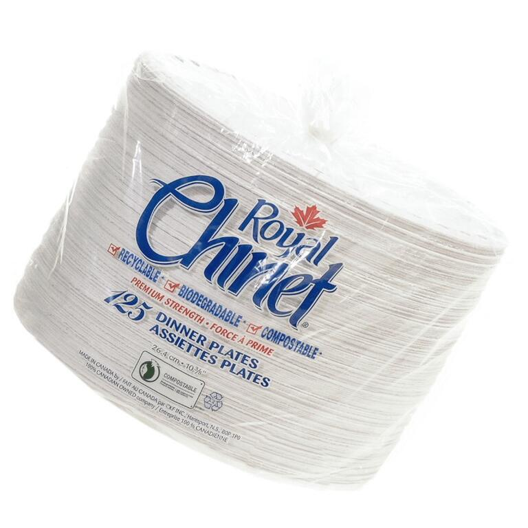 125 Pack Chinet Dinner Plates - Home Hardware