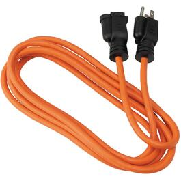 3M 3 Outlet SJTW 16/3 Orange Extension Cord thumb