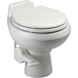 Traveler White Portable Toilet thumb