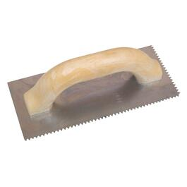 "9"" x 5/32"" V Notch Ceramic Adhesive Spreader thumb"