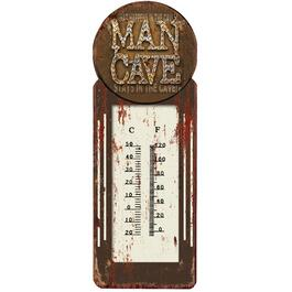 "4"" x 11.5"" Man Cave Thermometer thumb"