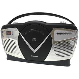 Retro Portable CD Radio Boombox thumb