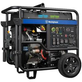 KING CANADA 10,000W 15HP Portable Gas Generator, with Electric Start