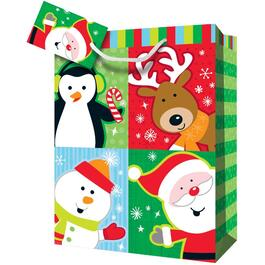 "16"" x 22"" x 8"" Paper Christmas Gift Bag, Assorted Designs thumb"