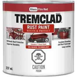 237mL Gloss Fire Red Alkyd Rust Paint thumb