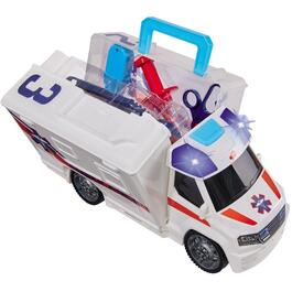 Battery Operated Push and Play Ambulance with Lights and Sound thumb