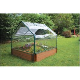 PVC Greenhouse Cover, for Raised Garden thumb