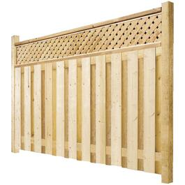 6' Spruce Sanded One Side Privacy Fence Package thumb