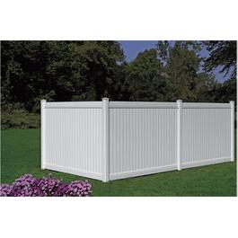 8' Brookhaven Privacy Panel Fence thumb