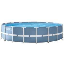 "12' Diameter 30"" Height Prism Frame Family Size Pool thumb"