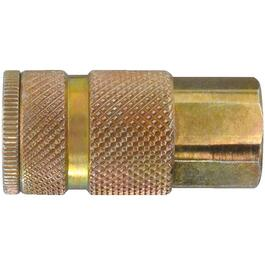 "1/4"" x 1/4"" Female National Pipe Thread Coupler thumb"