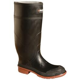"Men's Size 10 15"" Black Rubber Boots thumb"