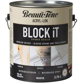 3.7L White Interior/Exterior BLOCK iT Latex Primer thumb