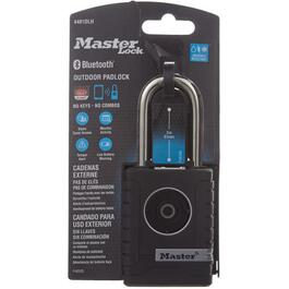 "2"" Bluetooth Enabled Smart Padlock, with 2-1/4"" Shackle thumb"
