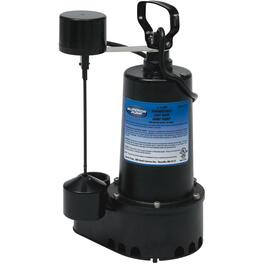 1/2 Horse Power Sump Pump, with Vertical Float Switch thumb