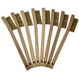 8 Pack Mini Brass Wire Brushes thumb