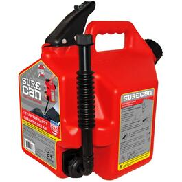 2.2 Gallon Red Plastic Gas Can thumb
