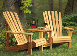 Double Muskoka Chair