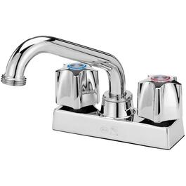 Chrome Laundry Faucet, with Plug thumb