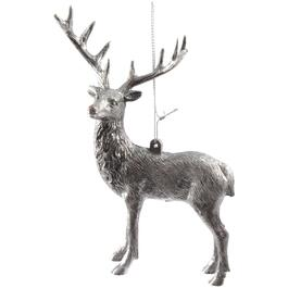 Plastic Rustic Deer Ornament, Assorted Styles with Hanger thumb
