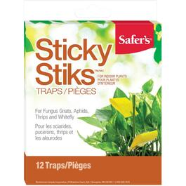 12 Pack Sticky Sticks Insect Traps thumb