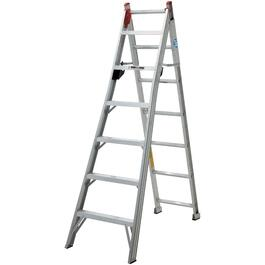 7' #2 Aluminum 3-Way Ladder thumb