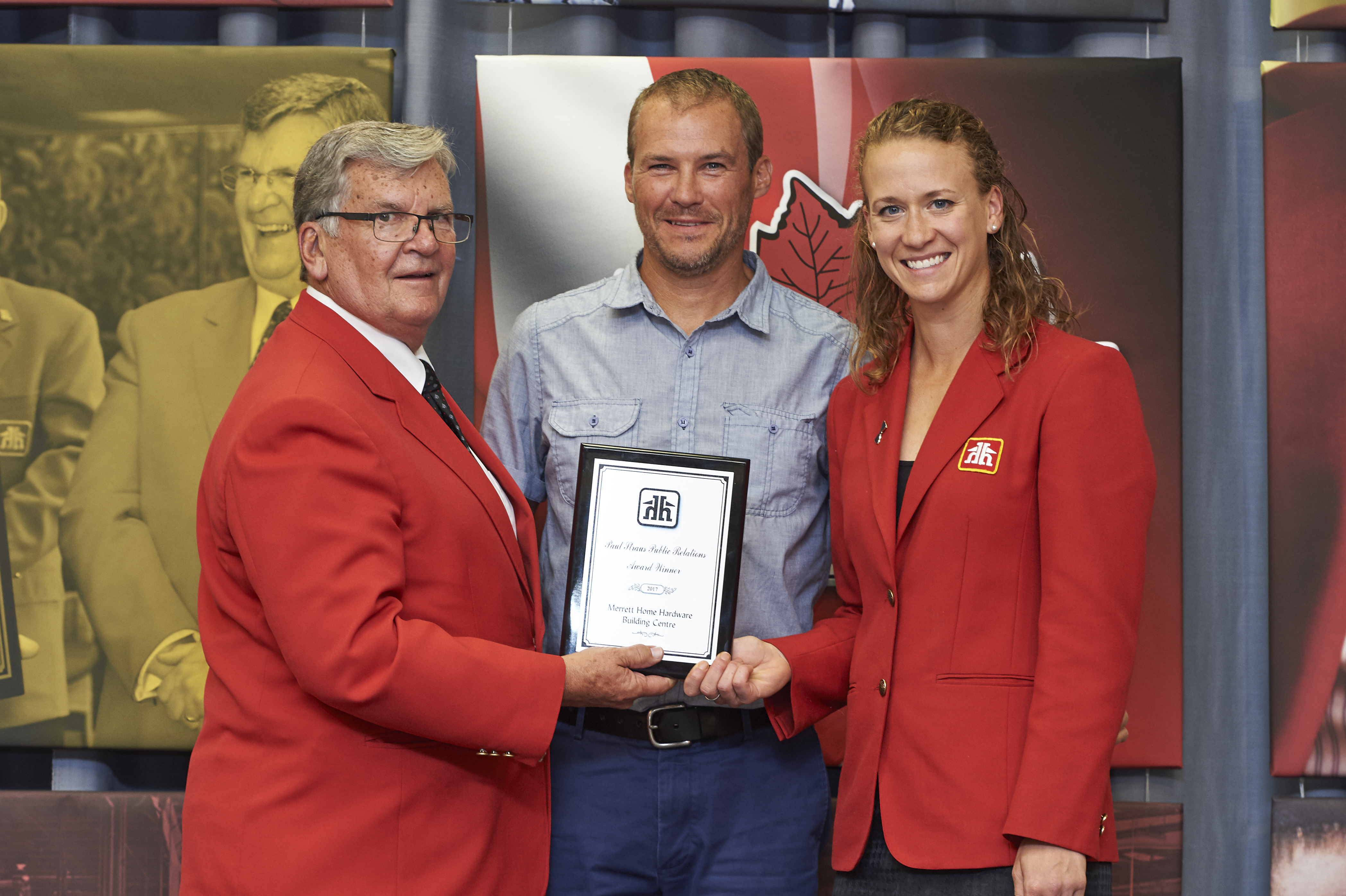 Merrett Home Hardware Building Centre Recipient of Paul Straus Public Relations Award