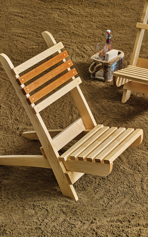 2-Piece Beach Chair