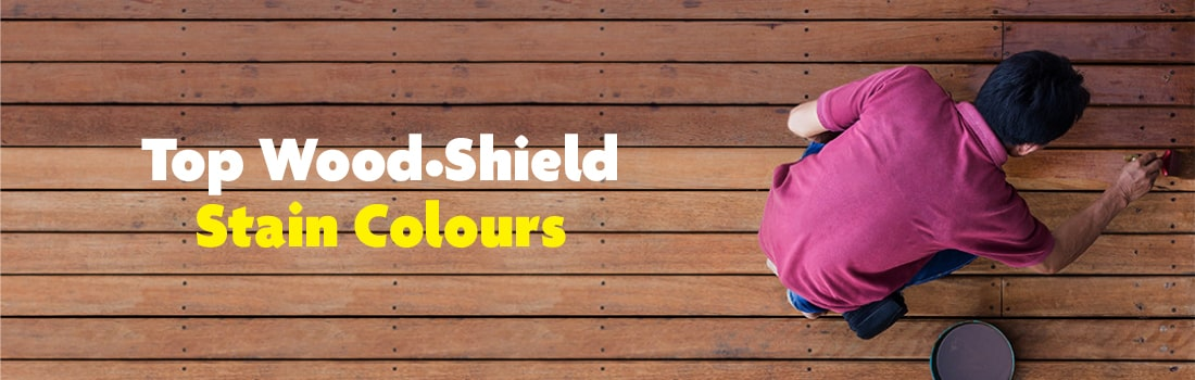 Top Wood Shield Stain Colours