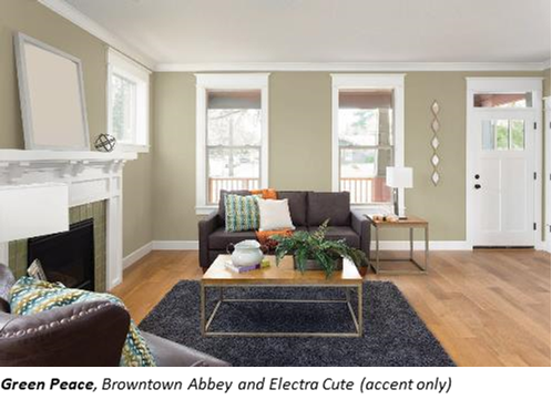 Green Peace Beauti Tones 2018 Colour Of The Year Home Hardware