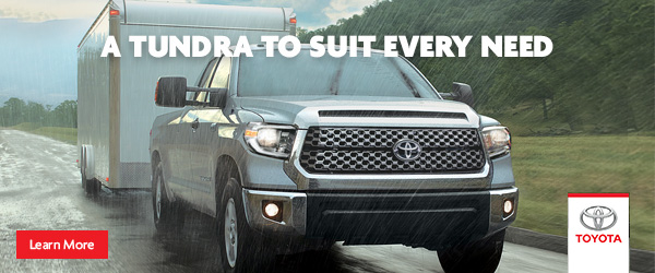 A Tundra to suit every need