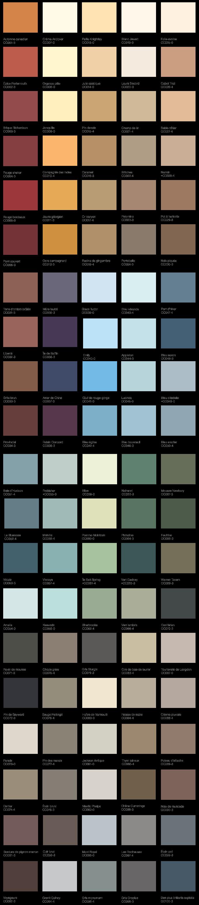 Beauti Tone Paint Colour Samples