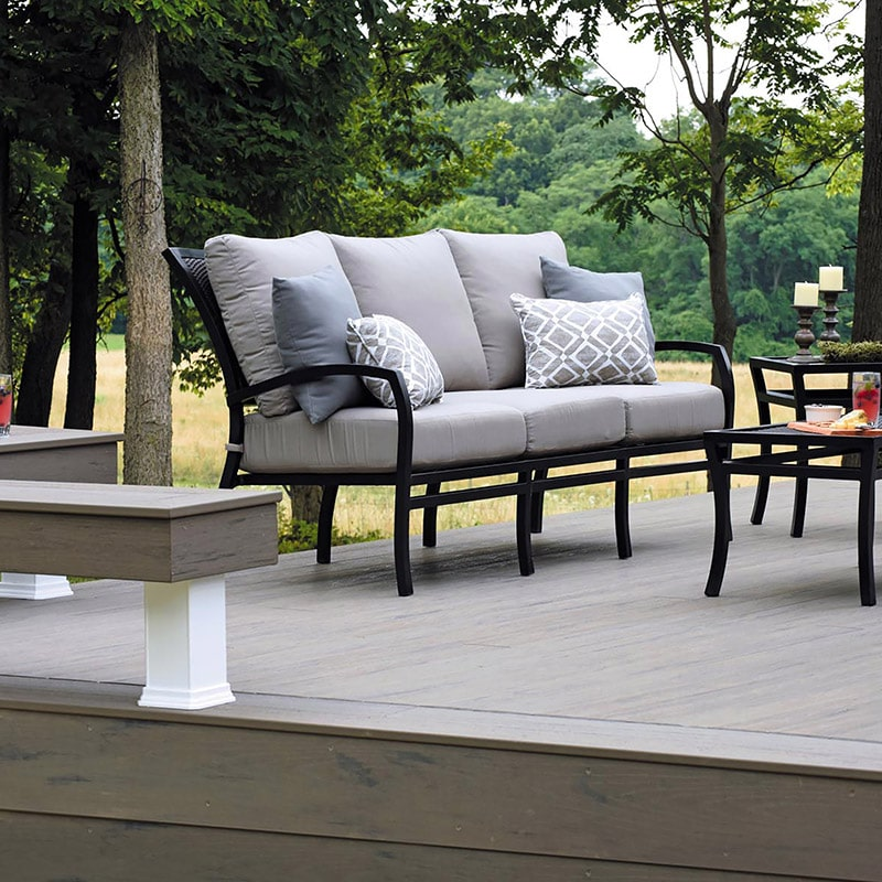 Silver Maple Composite Deck