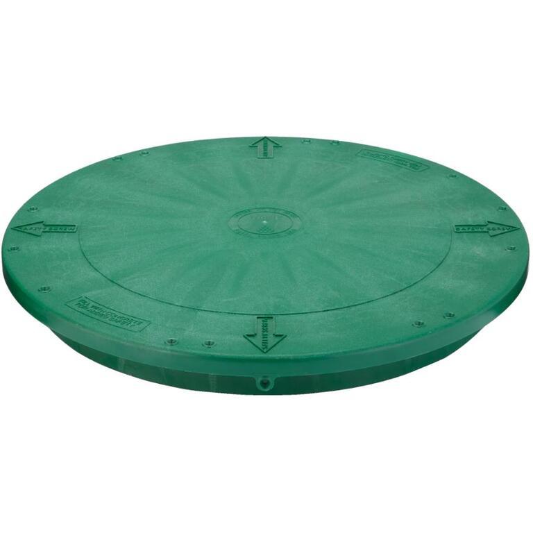 couvercle de rallonge vert plat pour adaptateur de fosse septique de 24 po home hardware. Black Bedroom Furniture Sets. Home Design Ideas
