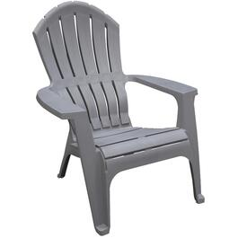 Chaise Adirondack ergonomique empilable, gris requin thumb
