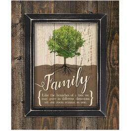 Plaque murale Family, 17 po x 21 po thumb