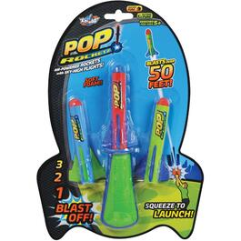 Lanceur de fusée Air Powered Pop Rocketz thumb